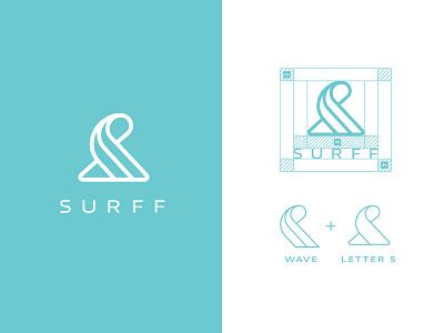 Surff - Logo Design surf surf logo logo graphic design logo design logos brand identity logo designer branding
