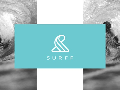 Surff - Brand Identity graphic design logo design surfing community surfers surf surf logo logo designer logo logos brand identity branding