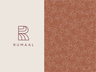 Rumaal - Visual Assets illustration graphic design visual identity brand design brand logo type logo logo design branding logos brand identity logo designer