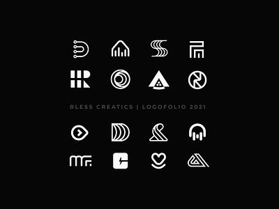 Logofolio 2021 mark icon graphic design logo type branding brand identity logo design logo logos logo designer