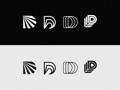 #LetterMarkExploration | 04/26 - D visual identity bold logo minimal logo d logo letter logo ui illustration design graphic design logo design logo logos brand identity logo designer branding