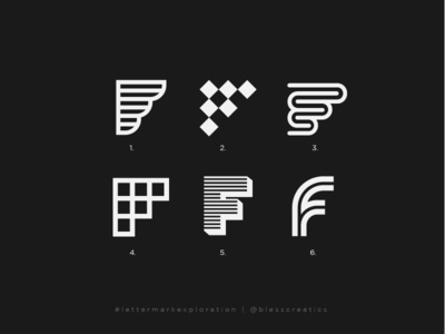 #lettermarkexploration - F - 06/26