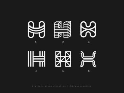 #lettermarkexploration - H - 08/26