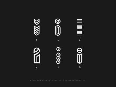 #lettermarkexploration - i - 09/26