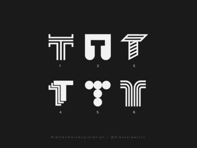 #lettermarkexploration - T - 20/26