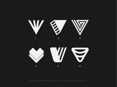 #lettermarkexploration - V - 22/26 type v logo letter v graphic design letter mark exploration letter mark lettermarkexploration logo designer logo type bless creatics mark logo design icon typography logo brand identity logos branding