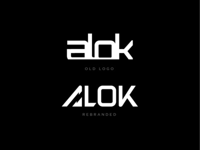 DJ Alok Rebrand branding agency branding and identity typography brand mark djs logo dj logo bless creatics logo type logo design icon graphic design logos brand identity logo designer branding