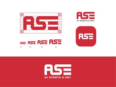 A1 Sports & Ent. Logo design design bold logo entertainment logo sports logo logo type logo design bless creatics graphic design logo typography logos brand identity logo designer branding