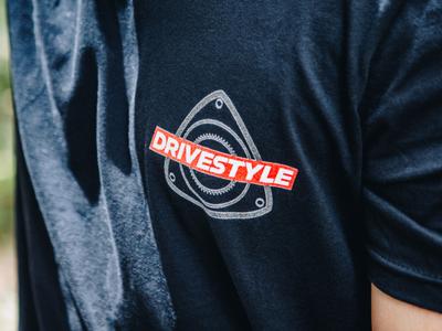 DRIVESTYLE Identity system sports logo automobile car logo race apparel apparel design apparel logo design logo type bless creatics logo design graphic design logo typography logos brand identity logo designer branding