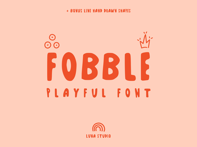 Fobble Font font awesome typedesign typefaces typographic type art typo typography logo brand branding design branding logotype typeface type font design font