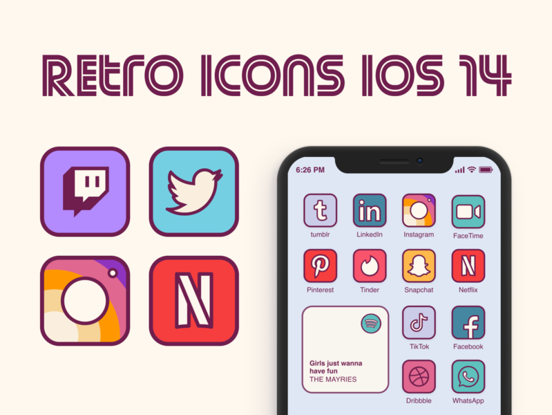 Retro icons home screen ios 14 funky icons retro iphone screen retro home screen retro retro icons home screen ios 14 icon set icons pack icons