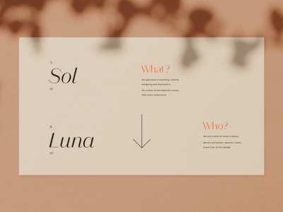 Sol y Luna Presentation Kit Template