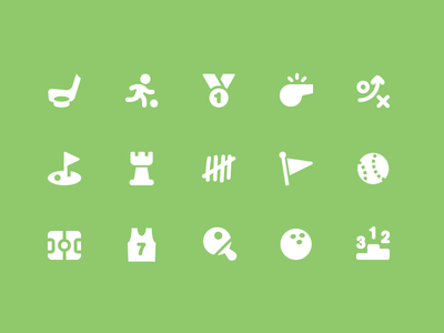 Pixi Icons - Sports and Games
