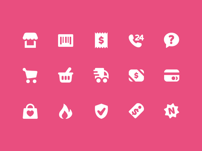 Pixi Icons - Shopping icon icon set pixi vector shopping shop commerce user interface icons ui