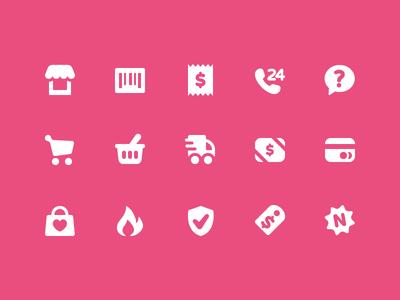 Pixi Icons - Shopping