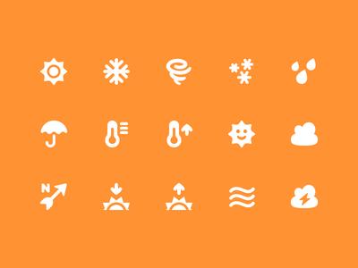 Pixi Icons - Weather