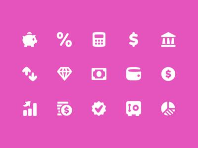 Pixi Icons - Finance