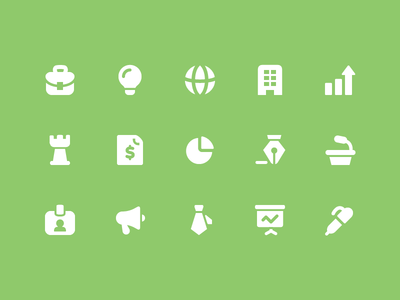 Pixi Icons - Business