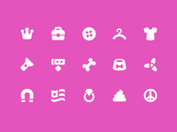 Pixi Icons - Objects