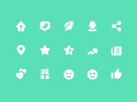 Pixi Icons - Social