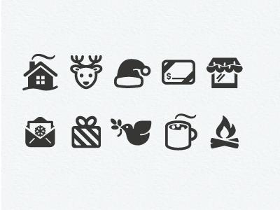 Christmas icons too