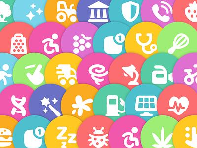Pixi Icons interface ui pixi icons icon set icon