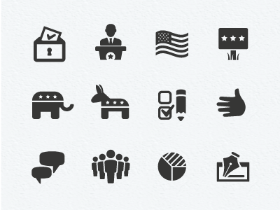 Politics icons 2