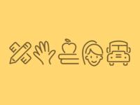 Education icons 2x