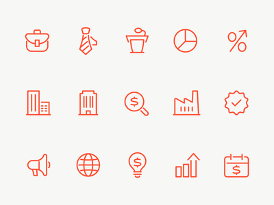 Biz Icons money finance business illustration interface vector ui icon icons icon set