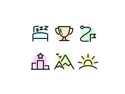 Fitness Icons health exercise workout fitness illustration line vector icon icons icon set