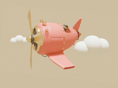 Small airplane blender