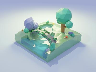 Green island blender