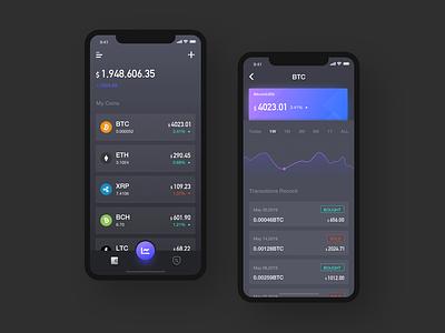 Cryptocurrency App bitcoin wallet app