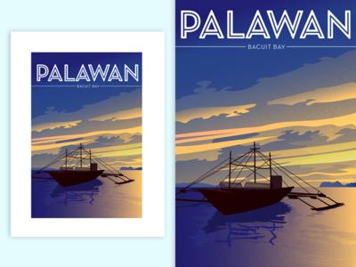 Bacuit Bay, Palawan, Philippines | Poster
