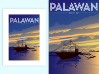 Bacuit Bay, Palawan, Philippines | Poster