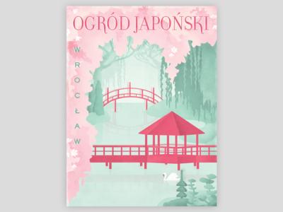 Ogród Japoński  |  Wrocław  |  Poster