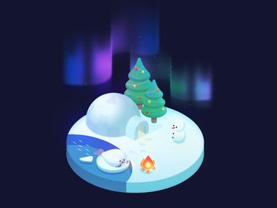 igloo antarctic