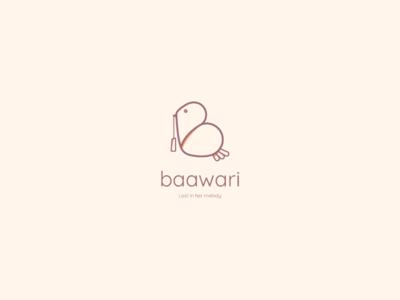 Bawaari - Logo concept 2
