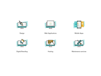 Custom icons for a project.