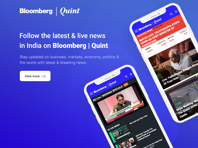 Bloombergquint news breaking latest with world the politics economy markets business