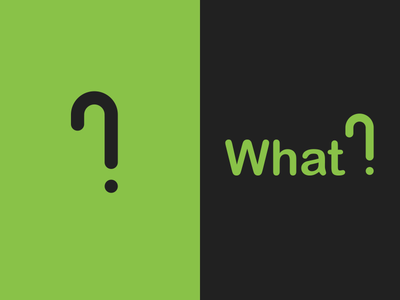 Modern Questions question symbol glyph punctuation typography question mark