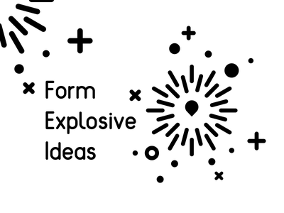 Explosive Ideas monochromatic force explosive explode idea icons abstract