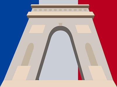 Arc de Triomphe french france paris history monument icon flag architecture