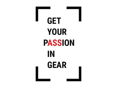 Passion business inspiration motivation passion poster