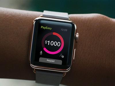 Watch Payment Interaction Design interaction design payment app watchos ios app smartwatch app designer iwatch watch app