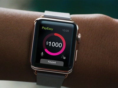 Watch Payment Interaction Design