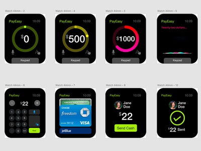 iWatch App for Payment