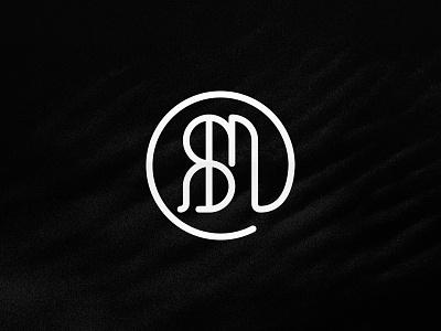 RBM Rodbuilder Mate Logo font initial logo