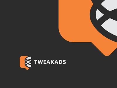 Tweak Ads Logo brand identity brand design logo dsign