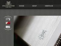 Stache & Hyde website